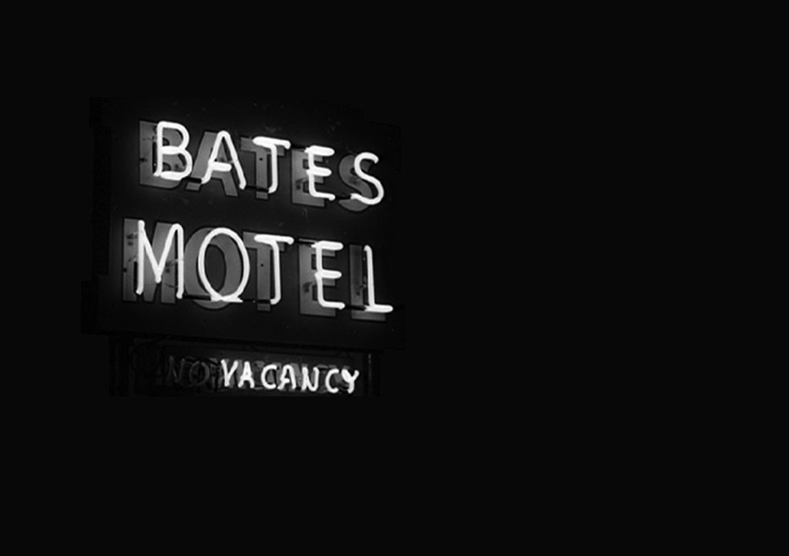 Norman Bates Wallpaper Traffic Club
